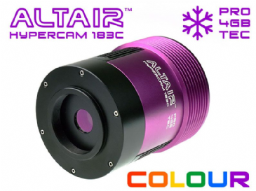 Altair Hypercam 183C PRO TEC COOLED 20mp Colour Astronomy Imaging Camera w 4GB DDR3 RAM